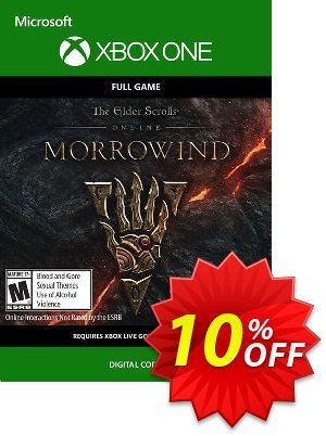 The Elder Scrolls Online Morrowind Xbox One discount coupon The Elder Scrolls Online Morrowind Xbox One Deal - The Elder Scrolls Online Morrowind Xbox One Exclusive Easter Sale offer for iVoicesoft