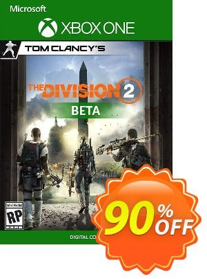 Tom Clancys The Division 2 Xbox One Beta discount coupon Tom Clancys The Division 2 Xbox One Beta Deal - Tom Clancys The Division 2 Xbox One Beta Exclusive Easter Sale offer for iVoicesoft