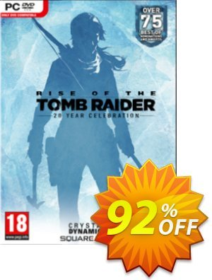 Rise of the Tomb Raider 20 Year Celebration PC discount coupon Rise of the Tomb Raider 20 Year Celebration PC Deal - Rise of the Tomb Raider 20 Year Celebration PC Exclusive offer for iVoicesoft