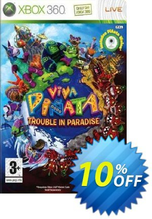 Viva Pinata: Trouble in Paradise Xbox 360 優惠券,折扣碼 Viva Pinata: Trouble in Paradise Xbox 360 Deal,促銷代碼: Viva Pinata: Trouble in Paradise Xbox 360 Exclusive Easter Sale offer for iVoicesoft