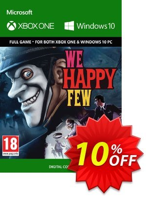 We Happy Few Xbox One / PC discount coupon We Happy Few Xbox One / PC Deal - We Happy Few Xbox One / PC Exclusive Easter Sale offer for iVoicesoft