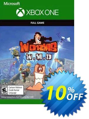 Worms W.M.D Xbox One Coupon, discount Worms W.M.D Xbox One Deal. Promotion: Worms W.M.D Xbox One Exclusive Easter Sale offer for iVoicesoft