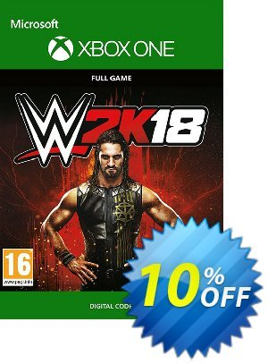 WWE 2K18 Xbox One 優惠券,折扣碼 WWE 2K18 Xbox One Deal,促銷代碼: WWE 2K18 Xbox One Exclusive Easter Sale offer for iVoicesoft