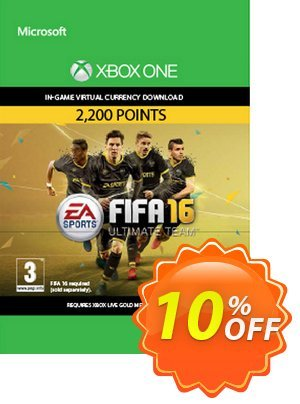 Fifa 16 - 2200 FUT Points (Xbox One) discount coupon Fifa 16 - 2200 FUT Points (Xbox One) Deal - Fifa 16 - 2200 FUT Points (Xbox One) Exclusive Easter Sale offer for iVoicesoft