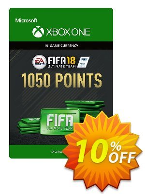 Fifa 18 - 1050 FUT Points (Xbox One) discount coupon Fifa 18 - 1050 FUT Points (Xbox One) Deal - Fifa 18 - 1050 FUT Points (Xbox One) Exclusive Easter Sale offer for iVoicesoft
