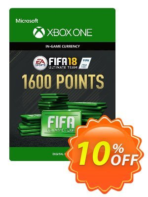 Fifa 18 - 1600 FUT Points (Xbox One) discount coupon Fifa 18 - 1600 FUT Points (Xbox One) Deal - Fifa 18 - 1600 FUT Points (Xbox One) Exclusive Easter Sale offer for iVoicesoft