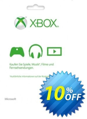 Microsoft Gift Card - 10 Euro (Xbox One/360) discount coupon Microsoft Gift Card - 10 Euro (Xbox One/360) Deal - Microsoft Gift Card - 10 Euro (Xbox One/360) Exclusive Easter Sale offer for iVoicesoft