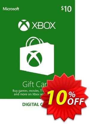 Microsoft Gift Card - $10 (Xbox One/360) discount coupon Microsoft Gift Card - $10 (Xbox One/360) Deal - Microsoft Gift Card - $10 (Xbox One/360) Exclusive Easter Sale offer for iVoicesoft