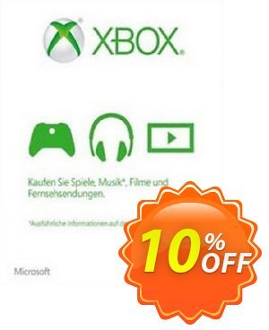 Microsoft Gift Card - €5 EUR Xbox One/360 discount coupon Microsoft Gift Card - €5 EUR Xbox One/360 Deal - Microsoft Gift Card - €5 EUR Xbox One/360 Exclusive Easter Sale offer for iVoicesoft