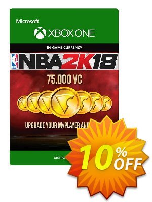 NBA 2K18 75,000 VC (Xbox One) 優惠券,折扣碼 NBA 2K18 75,000 VC (Xbox One) Deal,促銷代碼: NBA 2K18 75,000 VC (Xbox One) Exclusive Easter Sale offer for iVoicesoft