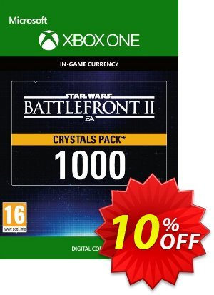 Star Wars Battlefront 2: 1000 Crystals Xbox One discount coupon Star Wars Battlefront 2: 1000 Crystals Xbox One Deal - Star Wars Battlefront 2: 1000 Crystals Xbox One Exclusive Easter Sale offer for iVoicesoft
