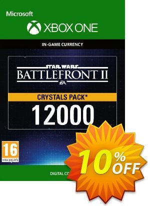Star Wars Battlefront 2: 12000 Crystals Xbox One discount coupon Star Wars Battlefront 2: 12000 Crystals Xbox One Deal - Star Wars Battlefront 2: 12000 Crystals Xbox One Exclusive Easter Sale offer for iVoicesoft