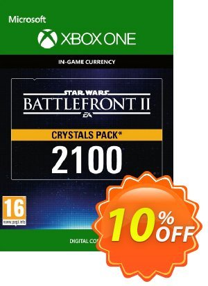 Star Wars Battlefront 2: 2100 Crystals Xbox One discount coupon Star Wars Battlefront 2: 2100 Crystals Xbox One Deal - Star Wars Battlefront 2: 2100 Crystals Xbox One Exclusive Easter Sale offer for iVoicesoft