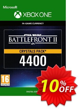 Star Wars Battlefront 2: 4400 Crystals Xbox One discount coupon Star Wars Battlefront 2: 4400 Crystals Xbox One Deal - Star Wars Battlefront 2: 4400 Crystals Xbox One Exclusive Easter Sale offer for iVoicesoft