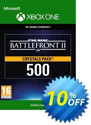 Star Wars Battlefront 2: 500 Crystals Xbox One discount coupon Star Wars Battlefront 2: 500 Crystals Xbox One Deal - Star Wars Battlefront 2: 500 Crystals Xbox One Exclusive Easter Sale offer for iVoicesoft