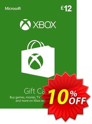 Xbox Gift Card - 12 GBP discount coupon Xbox Gift Card - 12 GBP Deal - Xbox Gift Card - 12 GBP Exclusive Easter Sale offer for iVoicesoft