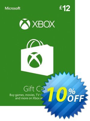 Xbox Gift Card - 12 GBP Coupon discount Xbox Gift Card - 12 GBP Deal. Promotion: Xbox Gift Card - 12 GBP Exclusive Easter Sale offer for iVoicesoft