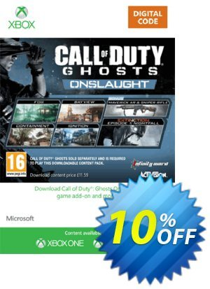 Xbox Live 12 GBP Gift Card: Call of Duty Ghosts Onslaught (Xbox 360) discount coupon Xbox Live 12 GBP Gift Card: Call of Duty Ghosts Onslaught (Xbox 360) Deal - Xbox Live 12 GBP Gift Card: Call of Duty Ghosts Onslaught (Xbox 360) Exclusive Easter Sale offer for iVoicesoft