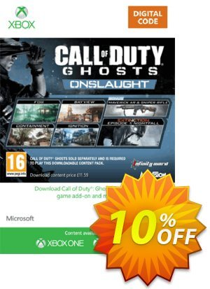 Xbox Live 12 GBP Gift Card: Call of Duty Ghosts Onslaught (Xbox 360) Coupon discount Xbox Live 12 GBP Gift Card: Call of Duty Ghosts Onslaught (Xbox 360) Deal. Promotion: Xbox Live 12 GBP Gift Card: Call of Duty Ghosts Onslaught (Xbox 360) Exclusive Easter Sale offer for iVoicesoft