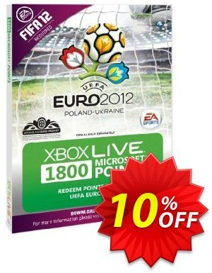 Xbox LIVE 1800 Microsoft Points - Euro 2012 Branded (Xbox 360) Coupon discount Xbox LIVE 1800 Microsoft Points - Euro 2012 Branded (Xbox 360) Deal. Promotion: Xbox LIVE 1800 Microsoft Points - Euro 2012 Branded (Xbox 360) Exclusive Easter Sale offer for iVoicesoft