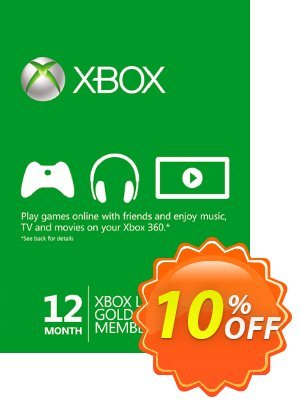 12 + 3 Month Xbox Live Gold Membership (Xbox One/360) Coupon, discount 12 + 3 Month Xbox Live Gold Membership (Xbox One/360) Deal. Promotion: 12 + 3 Month Xbox Live Gold Membership (Xbox One/360) Exclusive Easter Sale offer for iVoicesoft