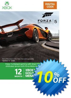 12 + 1 Month Xbox Live Gold Membership - Forza 5 Branded (Xbox One/360) 프로모션 코드 12 + 1 Month Xbox Live Gold Membership - Forza 5 Branded (Xbox One/360) Deal 프로모션: 12 + 1 Month Xbox Live Gold Membership - Forza 5 Branded (Xbox One/360) Exclusive Easter Sale offer for iVoicesoft