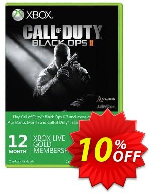12 + 1 Month Xbox Live Gold Membership - Black Ops II Branded (Xbox One/360) discount coupon 12 + 1 Month Xbox Live Gold Membership - Black Ops II Branded (Xbox One/360) Deal - 12 + 1 Month Xbox Live Gold Membership - Black Ops II Branded (Xbox One/360) Exclusive Easter Sale offer for iVoicesoft