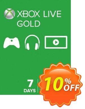 7 Day Trial Xbox Live Gold Membership (Xbox One/360) discount coupon 7 Day Trial Xbox Live Gold Membership (Xbox One/360) Deal - 7 Day Trial Xbox Live Gold Membership (Xbox One/360) Exclusive Easter Sale offer for iVoicesoft
