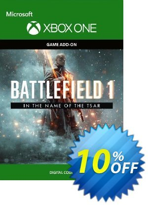 Battlefield 1: In the Name of the Tsar Expansion Pack Xbox One discount coupon Battlefield 1: In the Name of the Tsar Expansion Pack Xbox One Deal - Battlefield 1: In the Name of the Tsar Expansion Pack Xbox One Exclusive Easter Sale offer for iVoicesoft