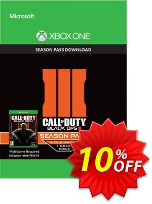 Call of Duty (COD): Black Ops III 3 Season Pass (Xbox One) 優惠券,折扣碼 Call of Duty (COD): Black Ops III 3 Season Pass (Xbox One) Deal,促銷代碼: Call of Duty (COD): Black Ops III 3 Season Pass (Xbox One) Exclusive Easter Sale offer for iVoicesoft