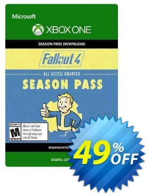 Fallout 4 Season Pass (Xbox One) discount coupon Fallout 4 Season Pass (Xbox One) Deal - Fallout 4 Season Pass (Xbox One) Exclusive Easter Sale offer for iVoicesoft