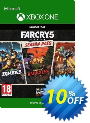 Far Cry 5 Season Pass Xbox One discount coupon Far Cry 5 Season Pass Xbox One Deal - Far Cry 5 Season Pass Xbox One Exclusive Easter Sale offer for iVoicesoft