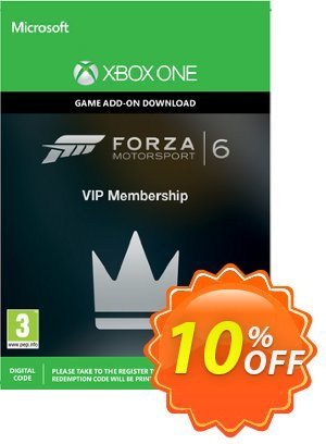 Forza Motorsport 6 VIP Membership Xbox One - Digital Code 優惠券,折扣碼 Forza Motorsport 6 VIP Membership Xbox One - Digital Code Deal,促銷代碼: Forza Motorsport 6 VIP Membership Xbox One - Digital Code Exclusive Easter Sale offer for iVoicesoft