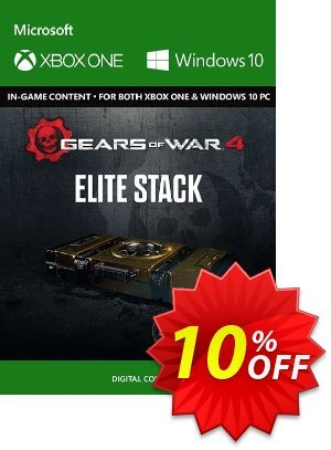 Gears of War 4 : Elite Stack Content Pack Xbox One / PC discount coupon Gears of War 4 : Elite Stack Content Pack Xbox One / PC Deal - Gears of War 4 : Elite Stack Content Pack Xbox One / PC Exclusive Easter Sale offer for iVoicesoft