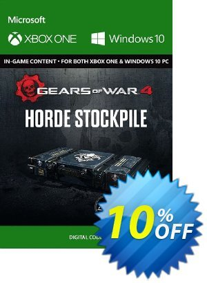 Gears of War 4 : Horde Booster Stockpile Content Pack Xbox One / PC discount coupon Gears of War 4 : Horde Booster Stockpile Content Pack Xbox One / PC Deal - Gears of War 4 : Horde Booster Stockpile Content Pack Xbox One / PC Exclusive Easter Sale offer for iVoicesoft