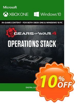 Gears of War 4 : Operations Stack Content Pack Xbox One / PC discount coupon Gears of War 4 : Operations Stack Content Pack Xbox One / PC Deal - Gears of War 4 : Operations Stack Content Pack Xbox One / PC Exclusive Easter Sale offer for iVoicesoft