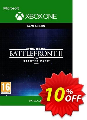 Star Wars Battlefront 2: Starter Pack Xbox One promo sales Star Wars Battlefront 2: Starter Pack Xbox One Deal. Promotion: Star Wars Battlefront 2: Starter Pack Xbox One Exclusive Easter Sale offer for iVoicesoft