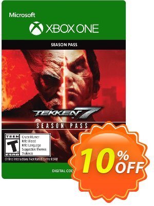 Tekken 7 Season Pass Xbox One discount coupon Tekken 7 Season Pass Xbox One Deal - Tekken 7 Season Pass Xbox One Exclusive Easter Sale offer for iVoicesoft