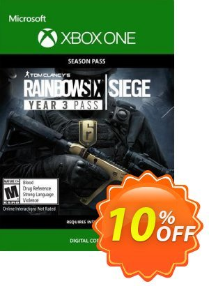 Tom Clancys Rainbow Six Siege: Year 3 Pass Xbox One promo sales Tom Clancys Rainbow Six Siege: Year 3 Pass Xbox One Deal. Promotion: Tom Clancys Rainbow Six Siege: Year 3 Pass Xbox One Exclusive Easter Sale offer for iVoicesoft