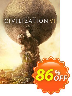 Sid Meier's Civilization VI 6 PC (Global) discount coupon Sid Meier's Civilization VI 6 PC (Global) Deal - Sid Meier's Civilization VI 6 PC (Global) Exclusive offer for iVoicesoft