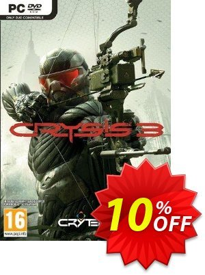 Crysis 3 PC 優惠券,折扣碼 Crysis 3 PC Deal,促銷代碼: Crysis 3 PC Exclusive offer for iVoicesoft