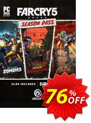 Far Cry 5 Season Pass PC discount coupon Far Cry 5 Season Pass PC Deal - Far Cry 5 Season Pass PC Exclusive offer for iVoicesoft