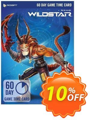 WildStar 60 Day Game Time Card PC discount coupon WildStar 60 Day Game Time Card PC Deal - WildStar 60 Day Game Time Card PC Exclusive offer for iVoicesoft