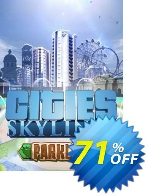 Cities Skylines PC - Parklife DLC 프로모션 코드 Cities Skylines PC - Parklife DLC Deal 프로모션: Cities Skylines PC - Parklife DLC Exclusive offer for iVoicesoft