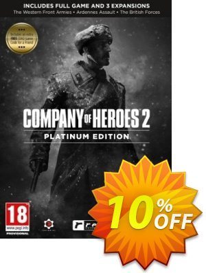 Company of Heroes 2 Platinum Edition PC discount coupon Company of Heroes 2 Platinum Edition PC Deal - Company of Heroes 2 Platinum Edition PC Exclusive offer for iVoicesoft