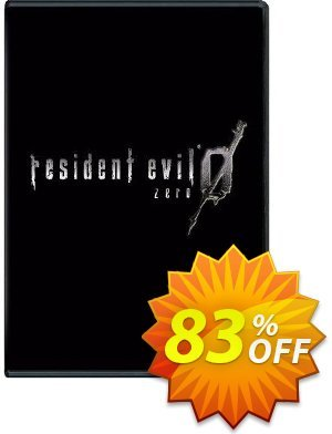 Resident Evil 0 HD PC 프로모션 코드 Resident Evil 0 HD PC Deal 프로모션: Resident Evil 0 HD PC Exclusive offer for iVoicesoft