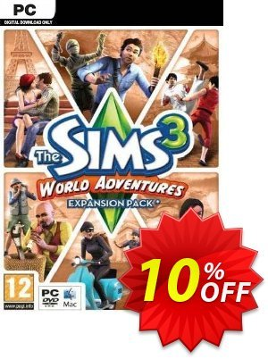 The Sims 3: World Adventures - Expansion Pack (PC/Mac) discount coupon The Sims 3: World Adventures - Expansion Pack (PC/Mac) Deal - The Sims 3: World Adventures - Expansion Pack (PC/Mac) Exclusive offer for iVoicesoft