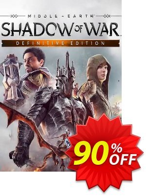 Middle-earth Shadow of War Definitive Edition PC discount coupon Middle-earth Shadow of War Definitive Edition PC Deal - Middle-earth Shadow of War Definitive Edition PC Exclusive offer for iVoicesoft
