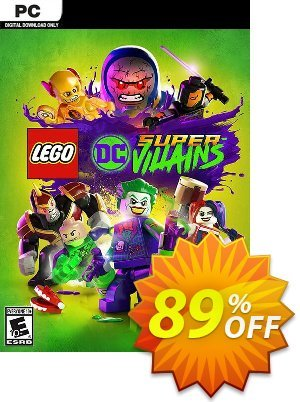 Lego DC Super-Villains PC discount coupon Lego DC Super-Villains PC Deal - Lego DC Super-Villains PC Exclusive offer for iVoicesoft