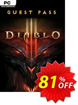 Diablo III 3 Guest Pass (PC) discount coupon Diablo III 3 Guest Pass (PC) Deal - Diablo III 3 Guest Pass (PC) Exclusive offer for iVoicesoft